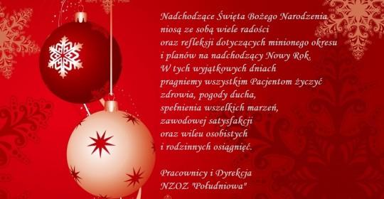 Wesołych Świąt !